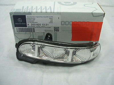 Genuine Mercedes-Benz W211 E-Class LH Mirror Repeater Indicator Lamp A2038201321