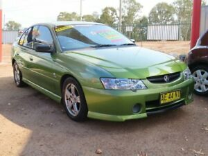 2003 Holden Commodore VY S Hot House Green 4 Speed Automatic Sedan