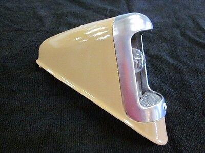 1937 Buick Tail Light Bezel, Pod, Bulb Socket, Bulux, Nice original part 1938