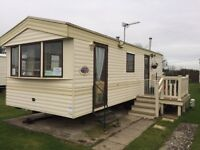 stunning starter 3 bedroom caravan LOWER Price for quick sale Ayr,Lanarkshire,Dumfrieshire,Cumbria