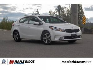 2018 Kia Forte S SUPER LOW KM, WELL EQUIPPED!