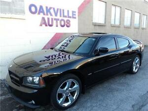 2009 Dodge Charger R/T HEMI-NAVI-SUNROOF-V8-LEATHER/SUEDE INTR