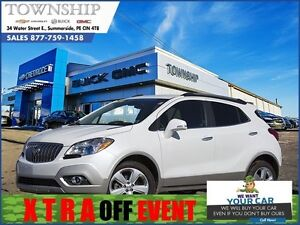 2016 Buick Encore Leather - $14/Day! - All Wheel Drive - 1 Owner