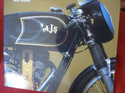 THE AJS 7R RACING MOTORCYCLE STORY by MICK WALKER c2002 Dianella Stirling Area Preview