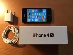 IPHONE 4S 16GB BELL OR VIRGIN