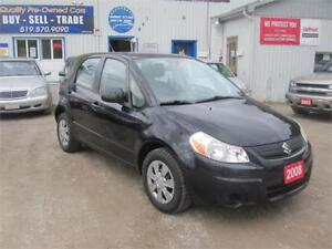 2008 Suzuki SX4 Fstbk| NO ACCIDENTS| NO RUST| MUST SEE