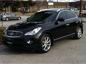 2013 Infiniti EX37 PREMIUM PKG- CAMERA / BLUETOOTH / NO ACCIDENT