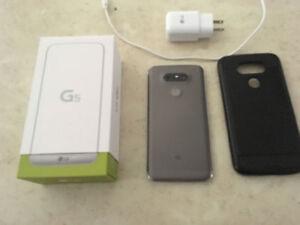 LG G5 DÉVÉROUILLÉ AVEC ÉTUIS