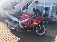 Yamaha YZF600 R 600cc