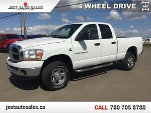 2006 Dodge Ram 2500 SLT/TRX4 Off Road Quad Cab Short Box 5.9L CU