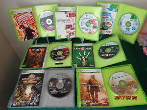 10 XBOX 360 Games for $30.00