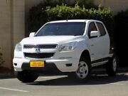 2013 Holden Colorado RG MY13 LX Crew Cab 4x2 White 6 Speed Sports Automatic Cab Chassis Enfield Port Adelaide Area Preview