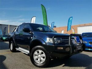 2010 Mitsubishi Triton MN MY10 GL-R (4x4) Blue 5 Speed Manual Double Cab Utility Osborne Park Stirling Area Preview