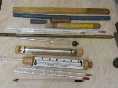SEVERAL THERMOMETERS ETC --- SCIENTIFIC--INDUSTRIAL ??????