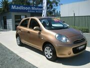 2011 Nissan Micra K13 ST Gold 5 Speed Manual Hatchback Tuncurry Great Lakes Area Preview
