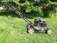 Yardworks Gas Lawnmower - 1 year old - excellent