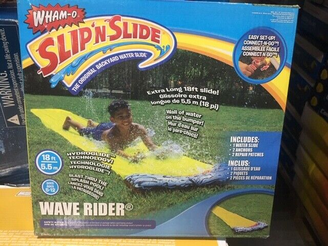 New In Box Wham-O Slip N Slide Wave Rider 18' 5.5m