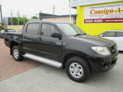 2009 Toyota Hilux GGN25R MY10 SR Black 5 Speed Automatic Utility Bundall Gold Coast City Preview