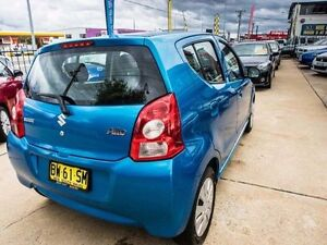2013 Suzuki Alto GF GL Blue Automatic Hatchback Fyshwick South Canberra Preview