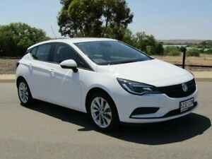 2019 Holden Astra BK MY19 R+ White 6 Speed Sports Automatic Hatchback Murray Bridge Murray Bridge Area Preview