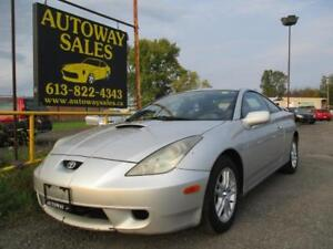 **AS-IS** 2001 Toyota Celica GT FWD automatic