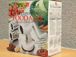 Brand New Multipurpose Food Mill in a Box