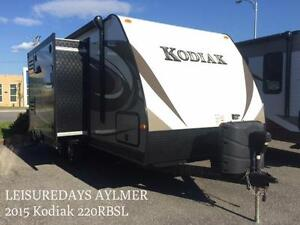 AYLMER, 2015 Kodiak 220RBSL **FINANCEMENT DISPONIBLE**