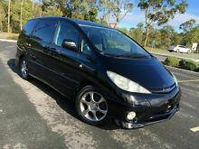 2003 Toyota Estima ACR30 AERAS S L Black 4 Speed Automatic Wagon Arundel Gold Coast City Preview