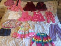 Size 2-3 years Girls Clothes Bundle