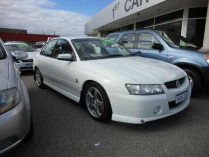 2004 Holden Commodore VZ VERY TIDY SV6 White 4 Speed Automatic Sedan Victoria Park Victoria Park Area Preview