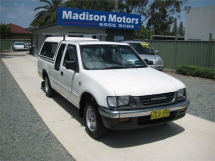 1998 Holden Rodeo TFG6 LX White 4 Speed Automatic Space Cab Pickup Tuncurry Great Lakes Area Preview