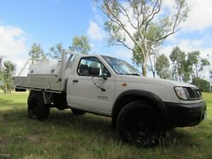 1998 Nissan Navara D22 DX White 5 Speed Manual Cab Chassis Dandenong Greater Dandenong Preview