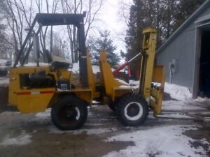 4x4 out door forklift not running comes with 2 motors