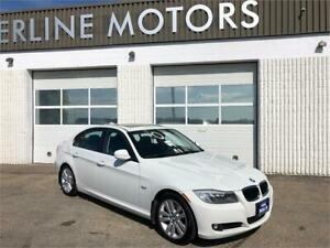 2011 BMW 323, ONLY 86 KMS, LEATHER, CLEAN TITLE!