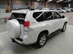 2012 Toyota Landcruiser Prado KDJ150R Altitude White 5 Speed Sports Automatic Wagon Maryville Newcastle Area Preview