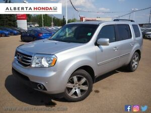 2015 Honda Pilot Touring * 4x4, ORIGINAL OWNER, LEATHER INTERIOR