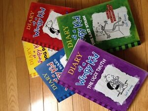 Diary of a Wimpy Kid - Set of 5