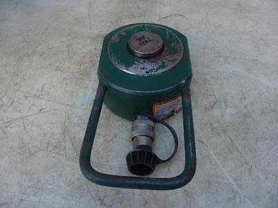 Simplex 75 Ton Hydraulic Cylinder Works Well