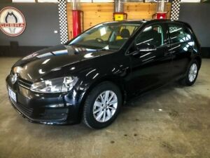 2017 Volkswagen Golf AU MY17 92 TSI Black 7 Speed Auto Direct Shift Hatchback Fyshwick South Canberra Preview
