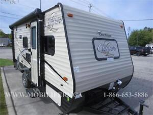 *2018 COACHMEN CLIPPER 17BH FOR SALE*MINVAN-SUV TOWABLE*BUNKS