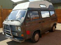 Volkswagen transporter 78ps camper caravan motor home transporter project