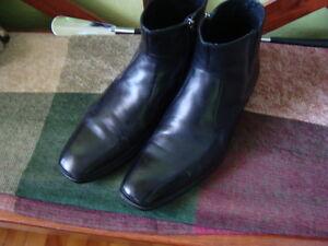 MEN'S PEGABO MENS BOOTS 43/10 OR PLAID SHIRT JACKET XL