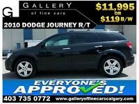2010 Dodge Journey R/T AWD $119 bi-weekly APPLY NOW DRIVE NOW