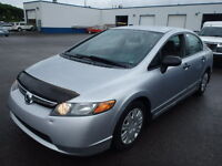 2007 HONDA CIVIC LX, AUTO, 1 OWNER / NO ACCIDENT