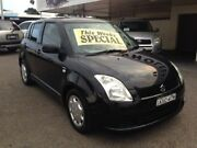 2006 Suzuki Swift EZ S Black 4 Speed Automatic Hatchback Broadmeadow Newcastle Area Preview
