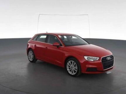 2016 Audi A3 8V MY17 1.4 Tfsi Sportback COD Red 7 Speed Auto S-Tronic Hatchback
