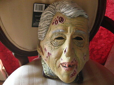 Halloween Costume Dead, Zombie Face Mask Former President William Bill Clinton](Bill Clinton Halloween Costume)