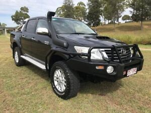 2012 Toyota Hilux KUN26R MY12 SR5 Double Cab Ink 4 Speed Automatic Utility Oakey Toowoomba Surrounds Preview