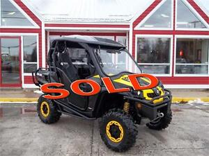 2014 CAN AM COMMANDER 1000 XTP