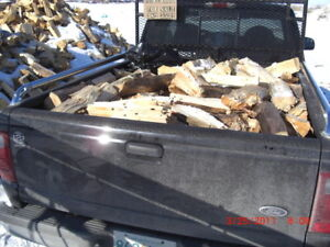 ***1/4 CORD SEASONED AND SPLIT JACKPINE FIREWOOD***